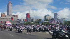 Los actos conmemorativos del Día Nacional de Taiwán, también conocido como el Doble Diez, iniciaron pasadas las 10:00 de la mañana en la explanada frontal del palacio de Gobierno.