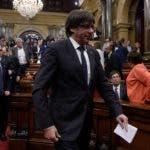 Los secesionistas catalanes amagaron con hacer declaración unilateral de independencia.