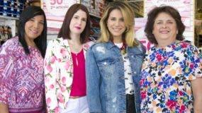 Rossy Báez, Benadette Sánchez, Pamela Sued y Myra de Franco.