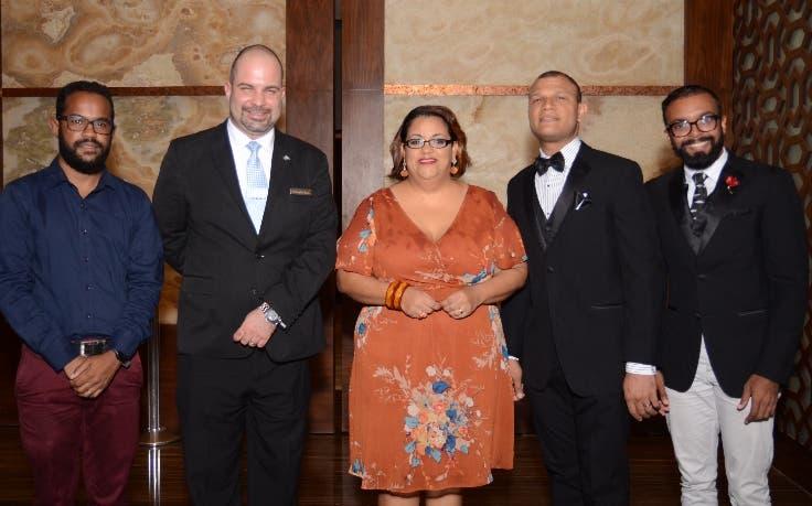 Héctor Romero, Christopher Hamra, Manuela Lora, Juan Carlos Henríquez y Víctor Alonso.