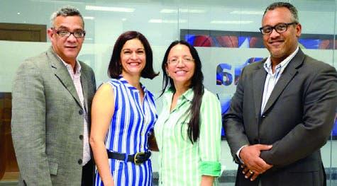 Franklin Puello, Deyanirys Rodríguez, Yanet Féliz y Hillman Pimentel.
