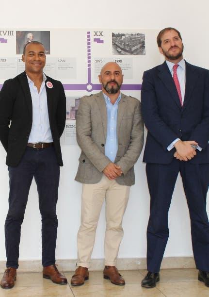 Miguel Piccini, Juan Sánchez y Rodrigo Campos.