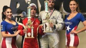 Pedro A. Redondo y Pedro Redondo Jr. son premiados inmediatamente concluyeron las carreras.