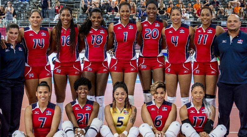 El equipo que presentará al país en el  torneo  de voleibol.