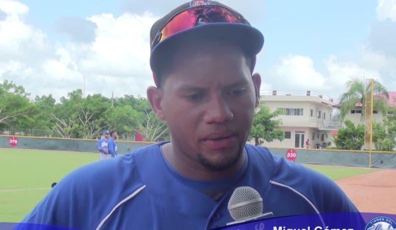 Segunda base Miguel  Gómez persigue anhelado debut