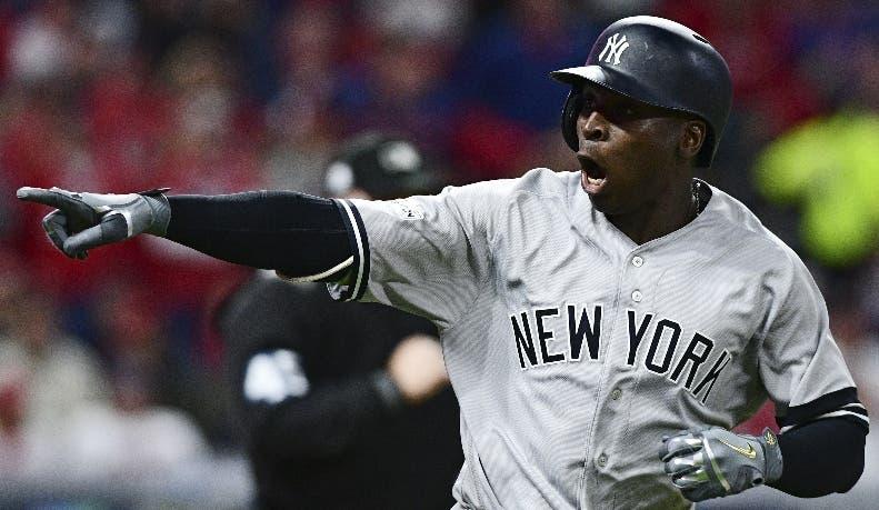 Didi Gregorius fue héroe de Yankees en el partido decisivo.