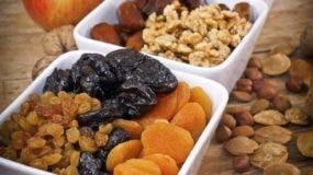 Estos frutos aportan también minerales, potasio, calcio, fósforo, hierro, zinc, entre otros.