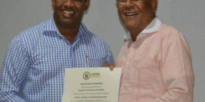 Manuel Rivas y  Argenis Contreras.