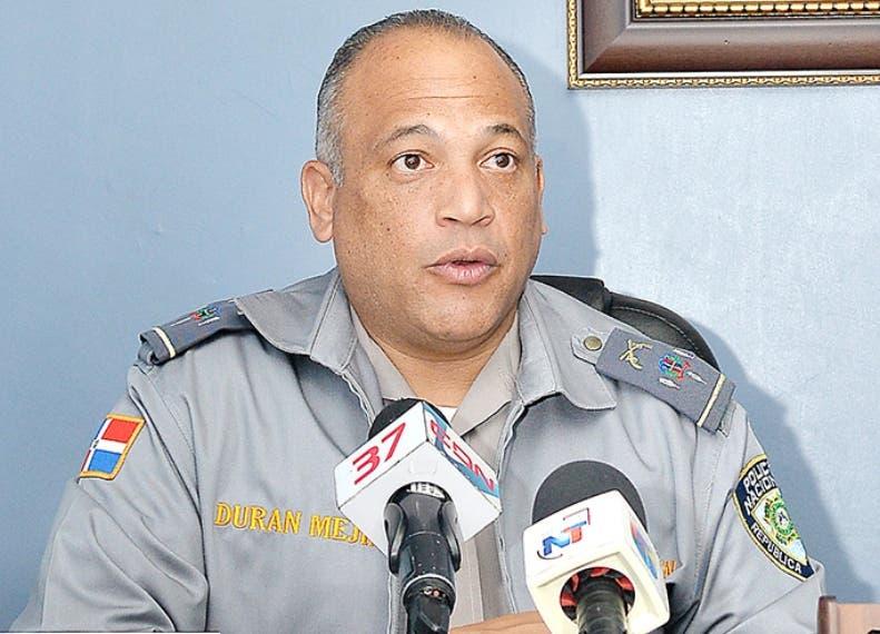Coronel Frank Félix Durán Mejía.  Archivo