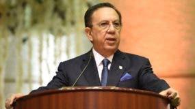 Valdez Albizu dijo que han desembolsado más de RD$12,600 millones del encaje legal liberado.