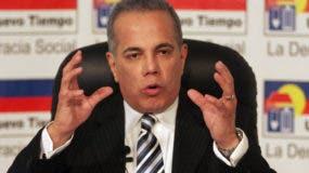 El político opositor venezolano Manuel Rosales. EFE
