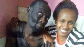 Cuando Wanja Mwaura vio a su amigo después de 15 años, no lo reconoció. (Foto: W. MWAURA)