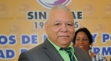 Julio César García Cruceta, secretario general del Sindicato Nacional de Trabajadores de Enfermería (Sinatrae).