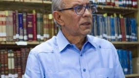 Dennis Simó, presidente Sociedad Dominicana de Bibliófilos.
