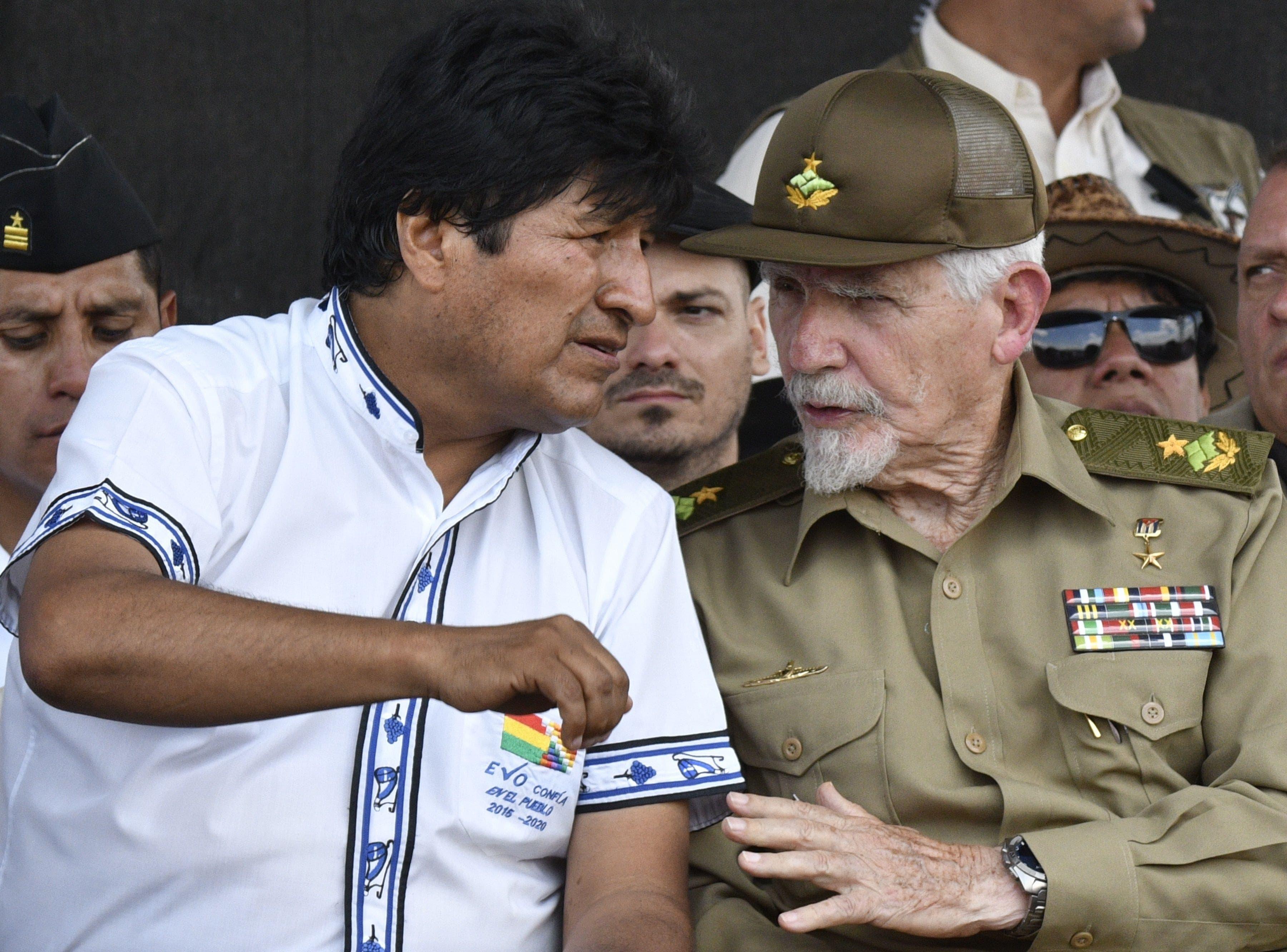 Evo Morales dice que