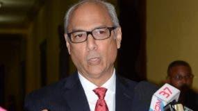 Flavio Darío Espinal, consultor Jurídico del Poder Ejecutivo. Foto: José de León/El Día.