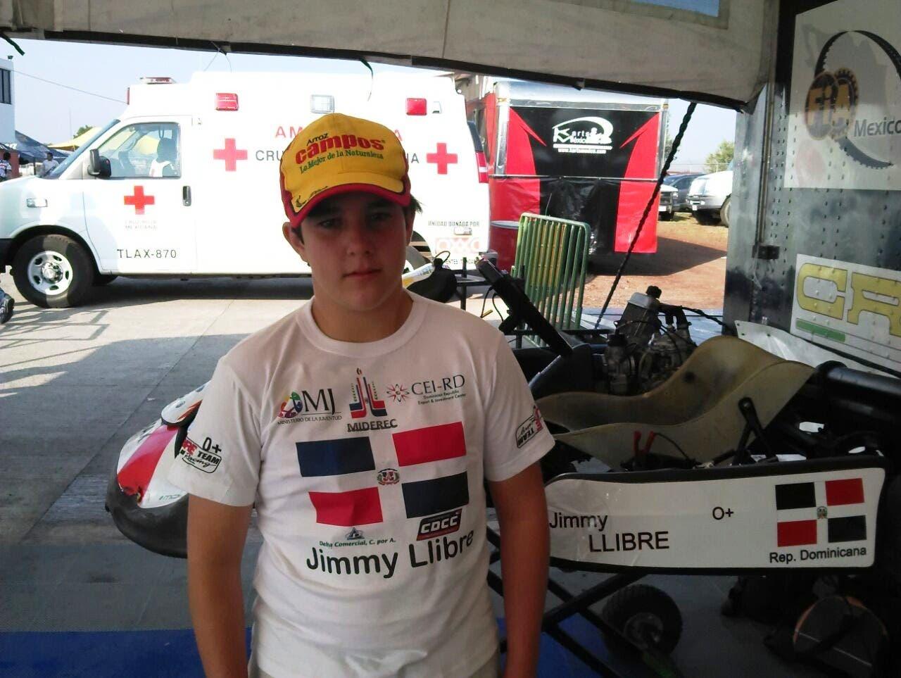 Jimmy Llibre Jr. competirá en el Campeonato Fórmula 4 de Argentina.
