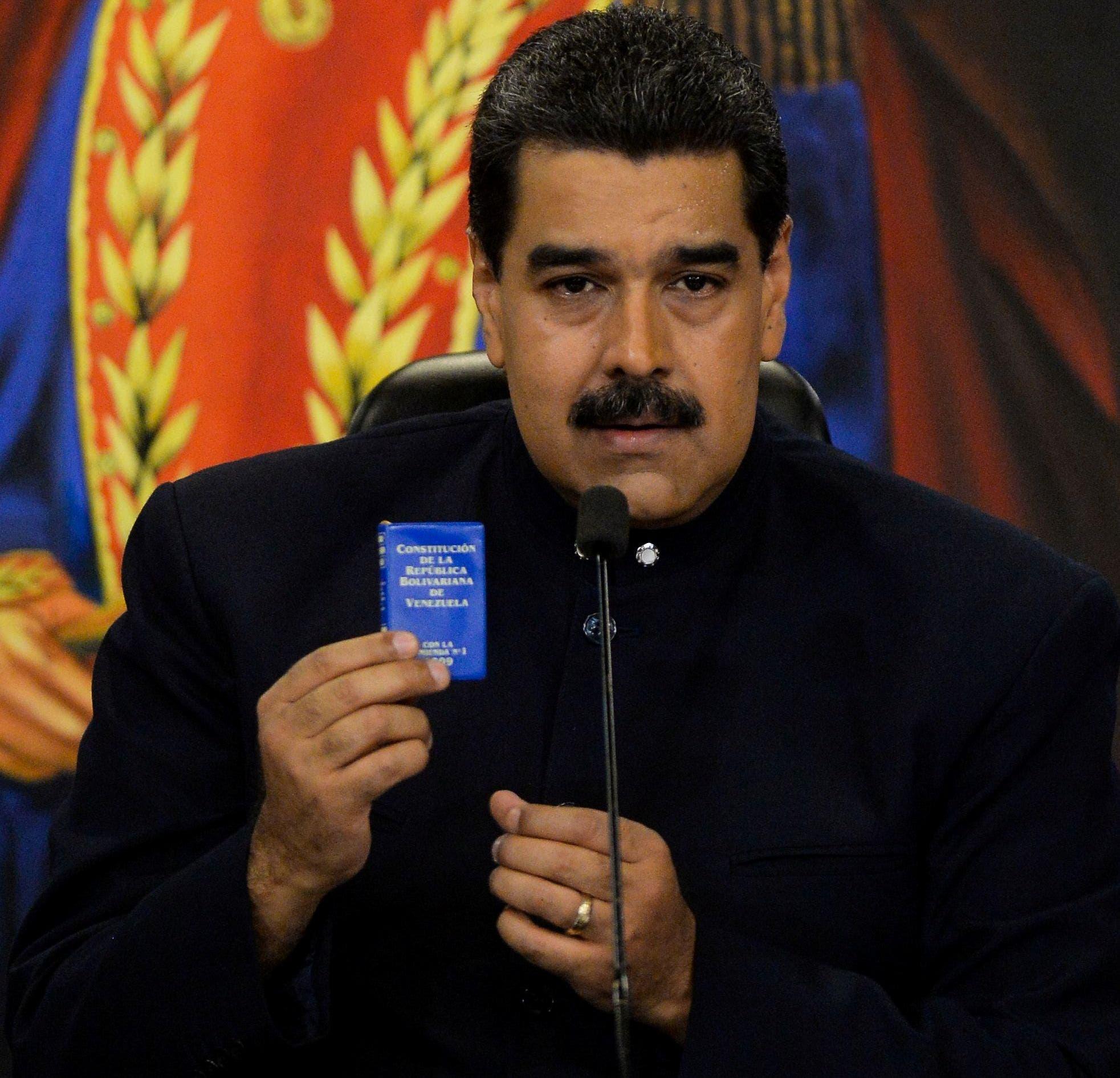"""""""Nuestro pueblo le ha dado un mensaje brutal al imperialismo, a Trump, a sus aliados regionales y a la derecha local"""", dijo Maduro hoy en rueda de prensa."""