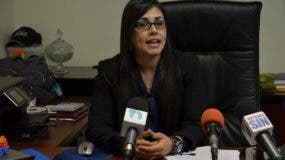 Olga Diná Llaverías, funcionaria de Procuraduría.