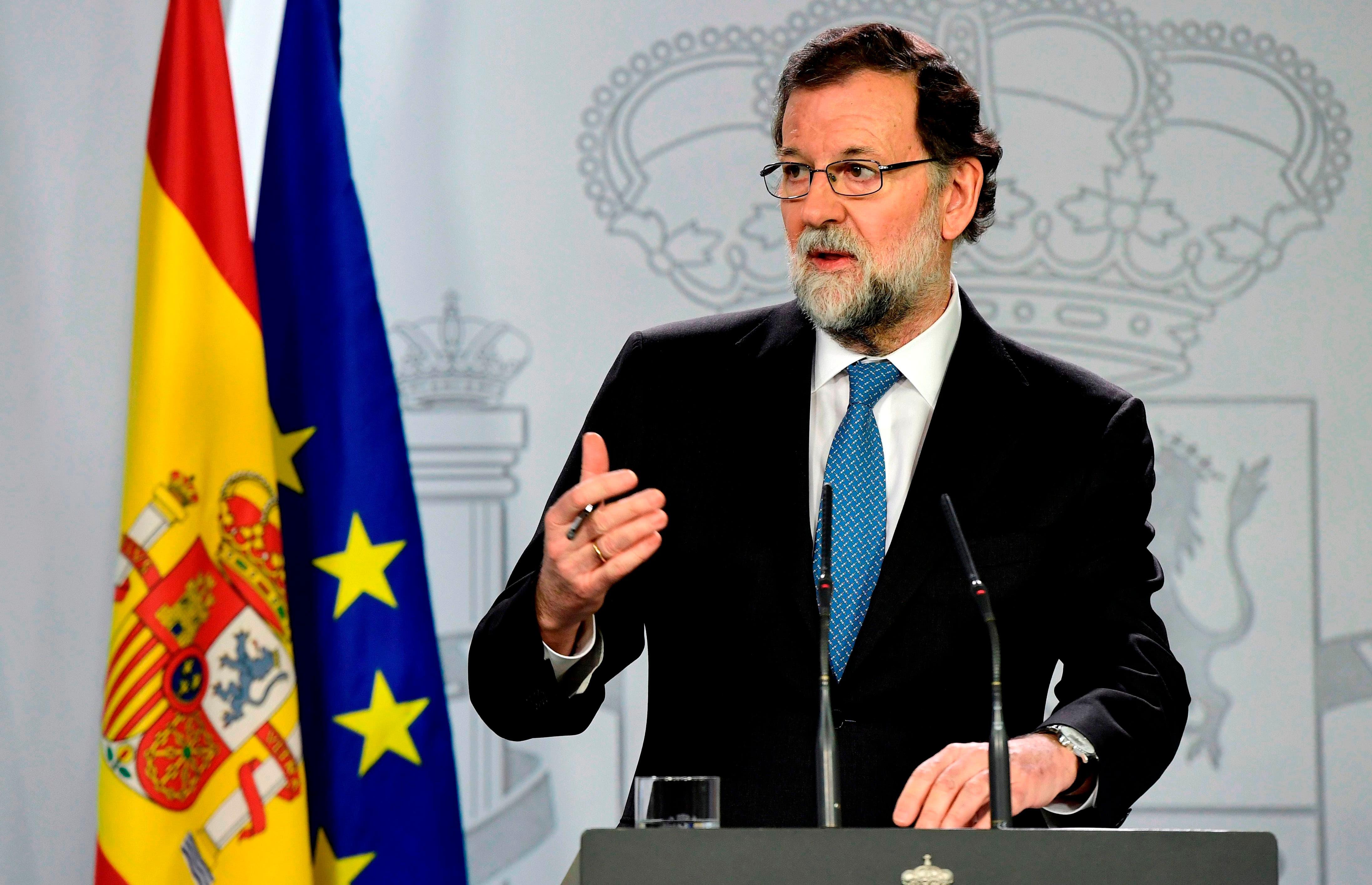 Rajoy asegura que España crecerá 3% en 2018 si vuelve la «normalidad» a Cataluña