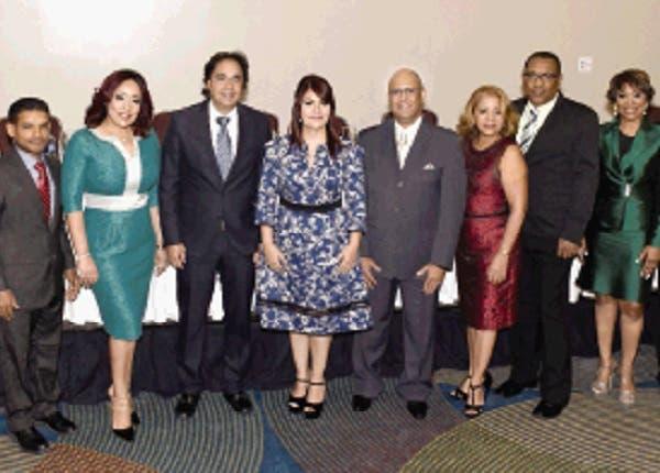 Claudia Almonte, junto a su equipo de trabajo.