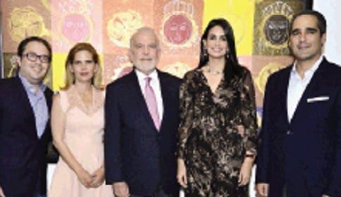 Carlos Hazoury, María Laura Hazoury, George Manuel Hazoury Peña, Judith Cury y Juan Mayol.