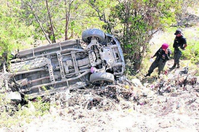 Accidente de tránsito deja cuatro heridos en Maimón