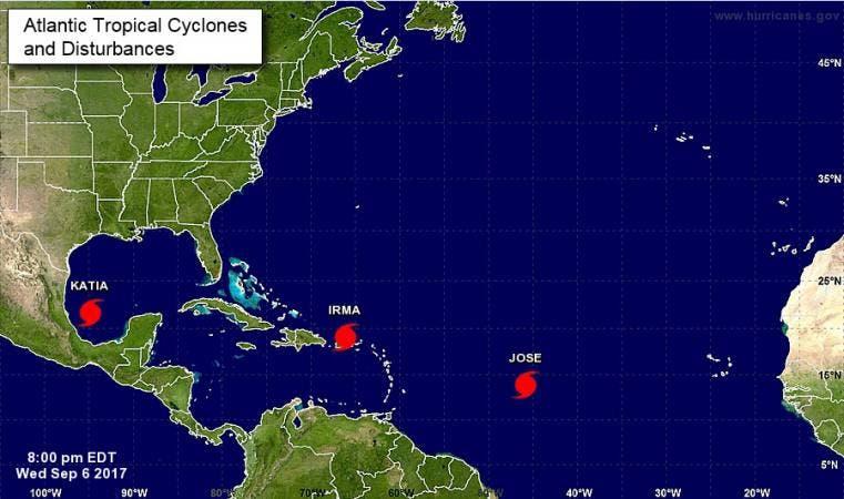 La era de los huracanes monstruosos en el Atlántico