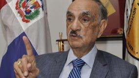 José Rafael Abinader, padre de Luis Abinader. Foto de archivo.