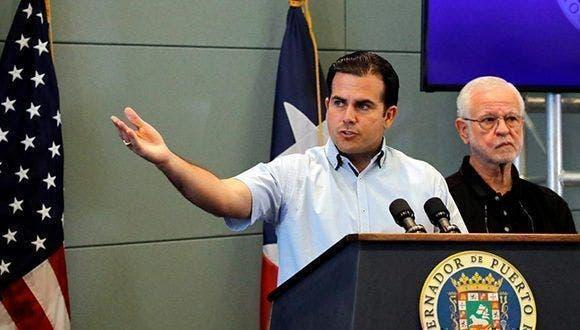 La información la ofreció el gobernador de Puerto Rico, Ricardo Rosselló,
