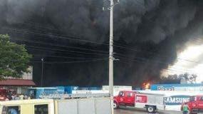 El incendio inició a las 3:30 de la tarde.