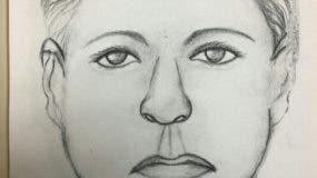 La policía difundió hoy un retrato hablado de la mujer acusada.