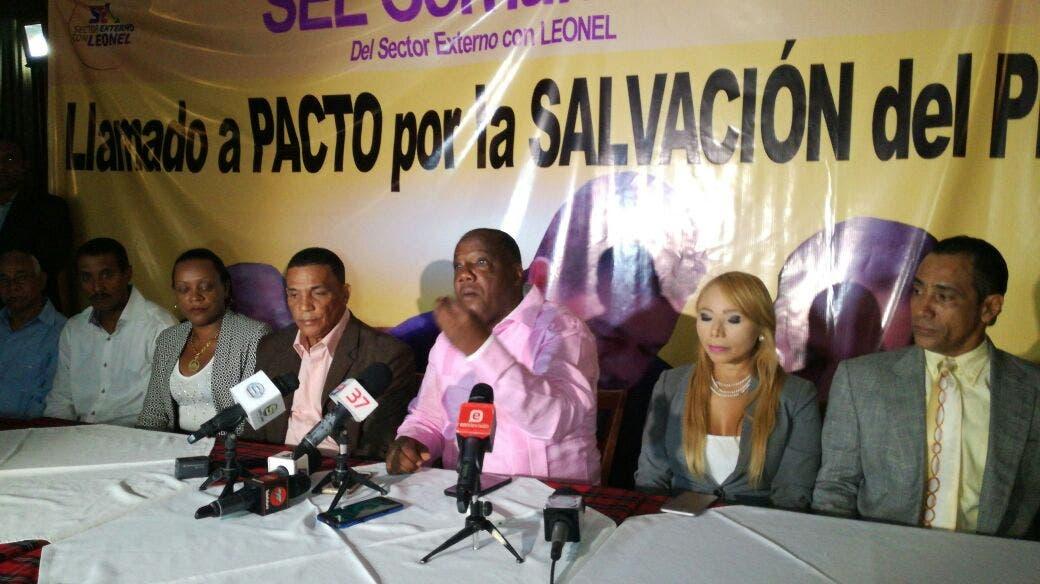 El movimiento Sector Externo con Leonel sugiere Danilo sea el presidente del PLD.
