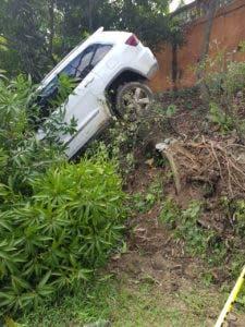El chofer del vehículo resultó ileso.