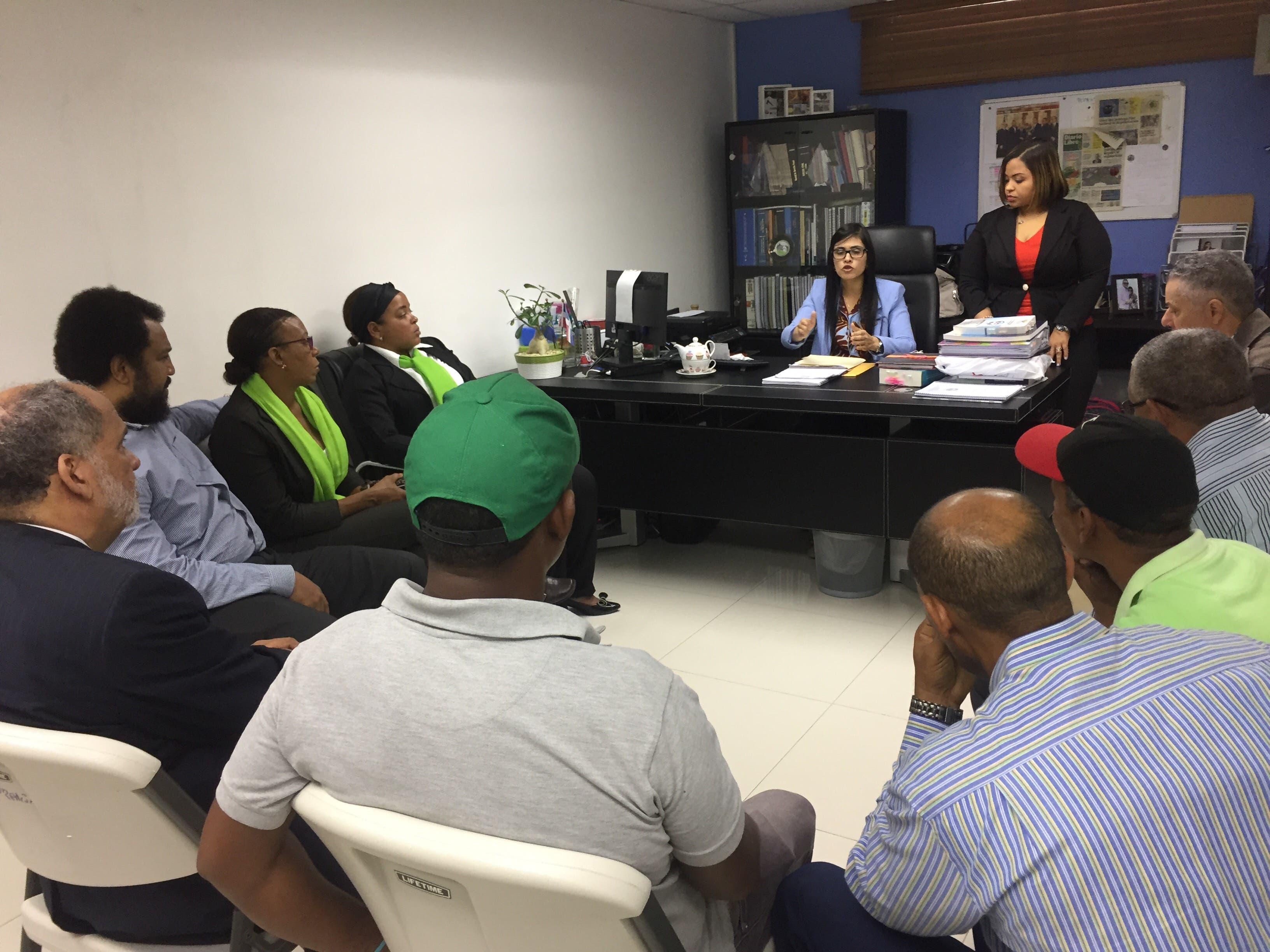 La procuradora titular de la provincia Santo Domingo, Olga Dina Llaverias, recibió la denuncia.