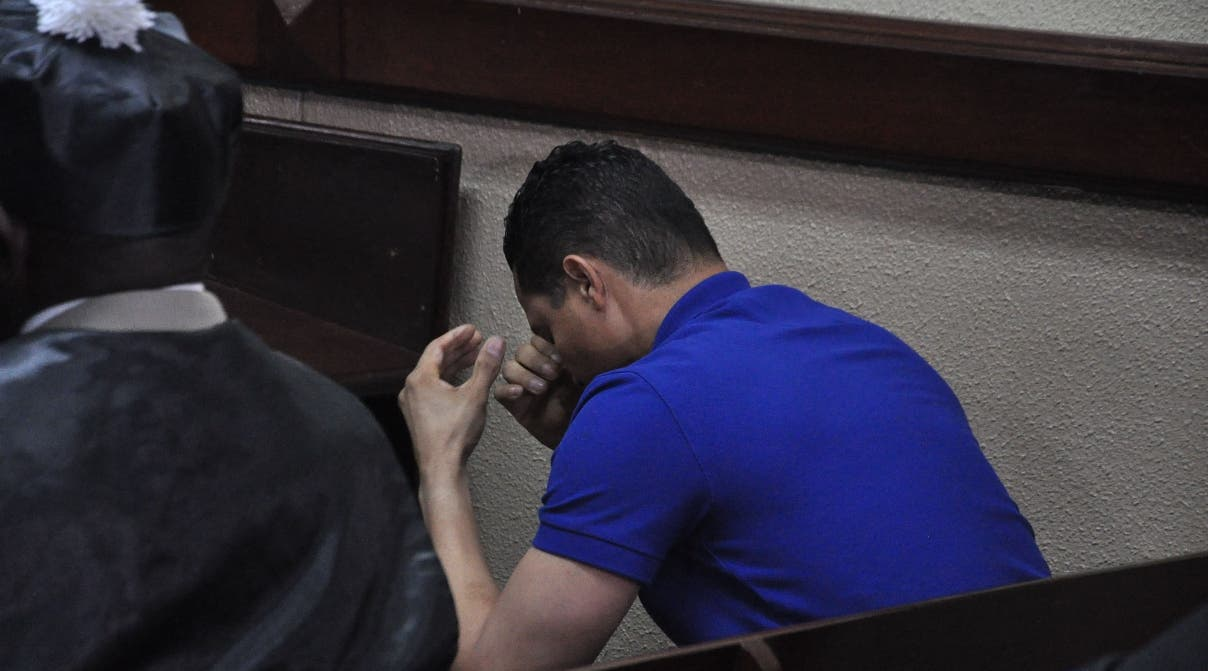 Al enviar imputado a la cárcel del 15 de Azua el  juez  Vargas pidió a los parientes apoyar víctimas.