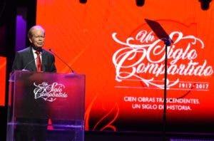 José Luis Corripio Estrada pronunció las palabras centrales.