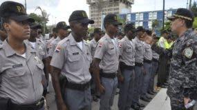 Director policial dijo  mayoría de agentes estarán en las calles.