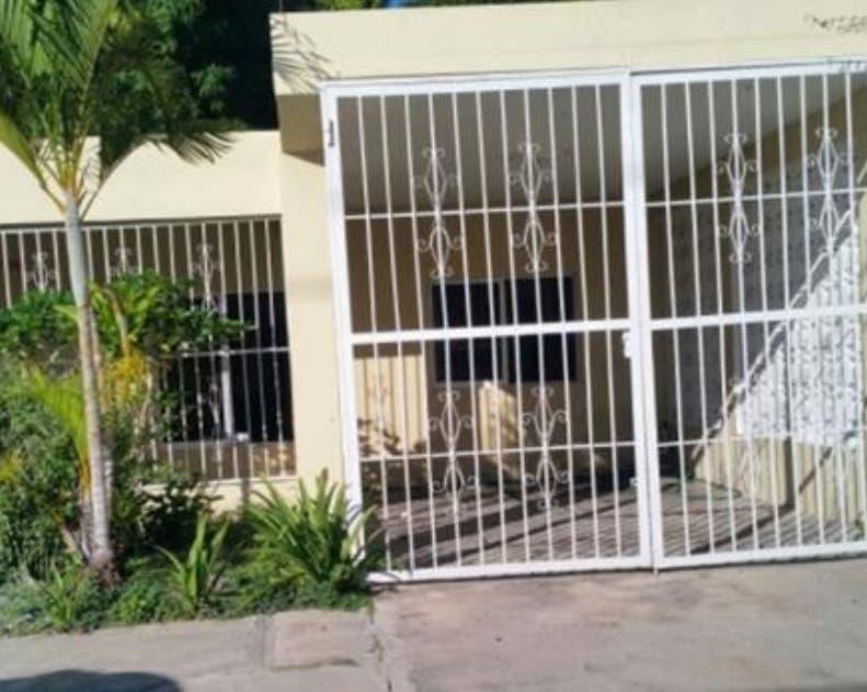 Local donde opera la DNCD en San Juan de la Maguana.