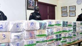 Las autoridades antidrogas dominicanas han incautado alijos.