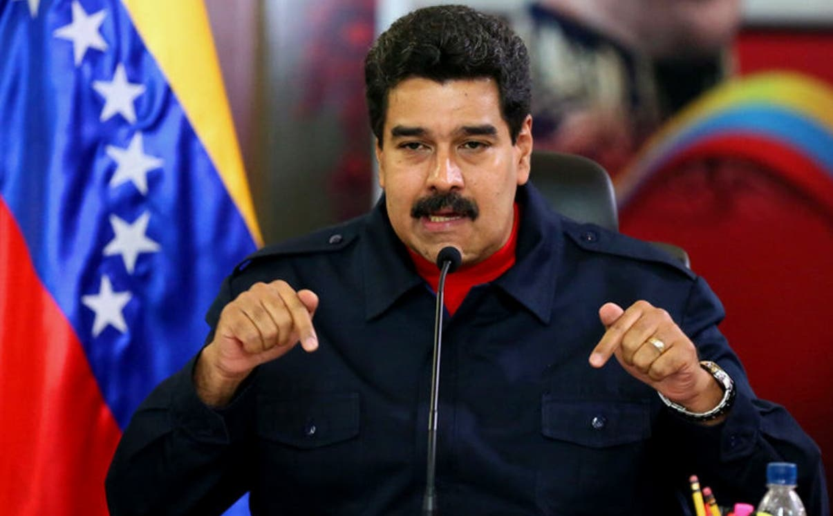 El presidente Nicolás Maduro
