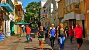 La Ciudad Colonial muestra un repunte en el turismo.