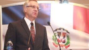Robert Copley, encargado de Negocios de la Embajada de EE. UU.