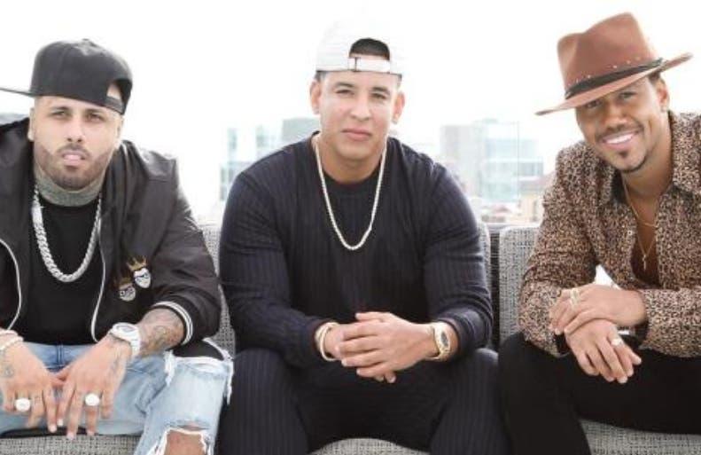 Nicky Jam, Daddy Jankee y Romeo Santos.