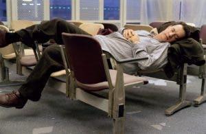 """Tom Hanks en una escena de la película """"La Terminal""""."""