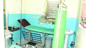 La sala de emergencia del Centro de Primer Nivel de Atención del sector no está en condiciones para atender la salud.