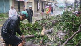 Más de 40 mil  hogares han quedado destruidos en el país.