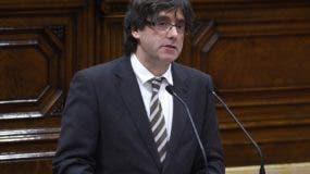 Carles Puigdemont está bajo  libertad condicional en Bruselas.