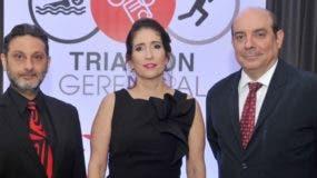 Carlos Yunén, Rosario Aróstegui y Paulo Herrera.