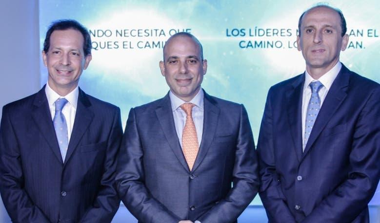 Santiago Camarena, José Yude Michelen y Juan Manuel Barranco.